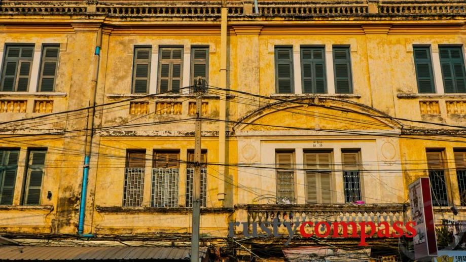 The old Manolis Hotel, Phnom Penh
