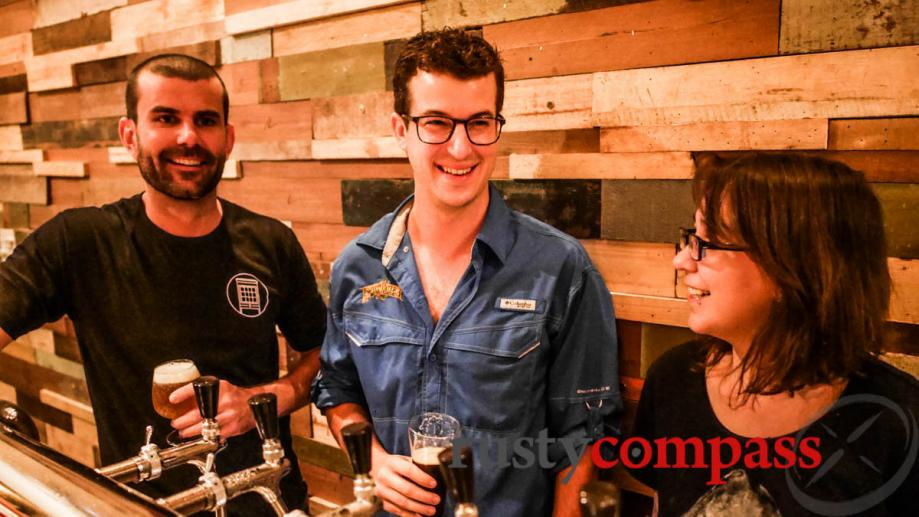 The global craft brew trend landed in Saigon too. John,...