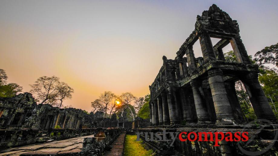 The stunning library at Preah Khan Temple, Angkor