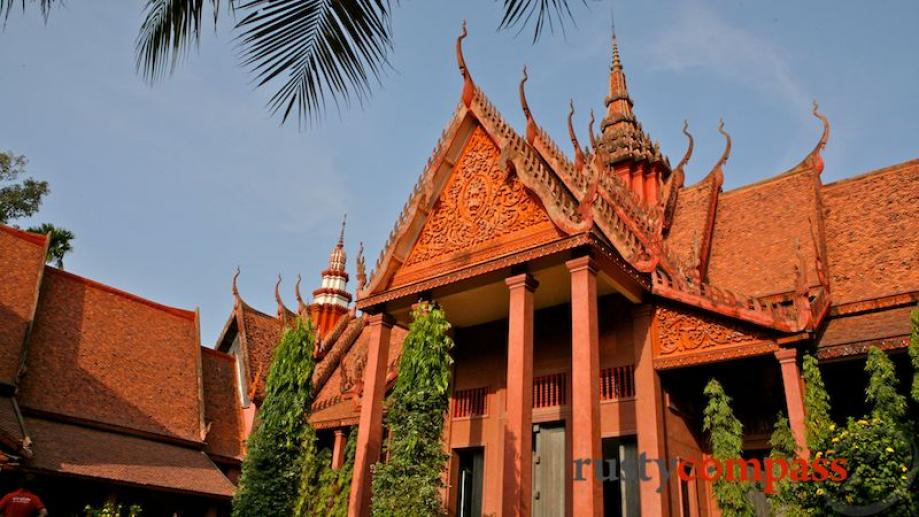 One of the most striking buildings in all of Phnom...