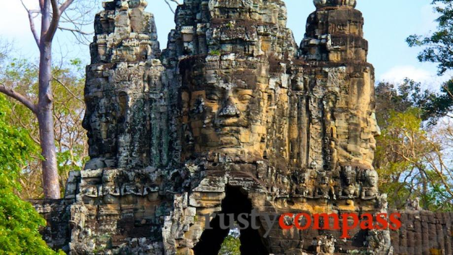 Angkor Thom's southern gate.