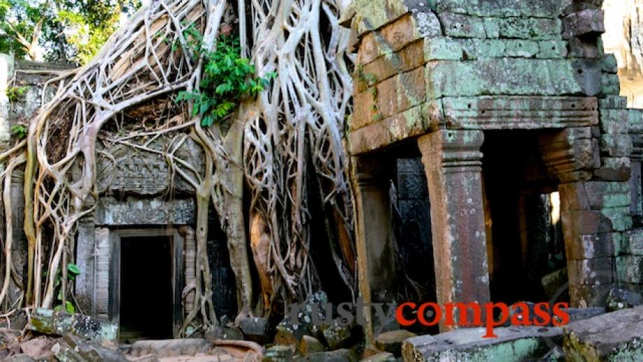 Yes, it was Ta Prohm that enjoyed a momentary Angelina Jolie...