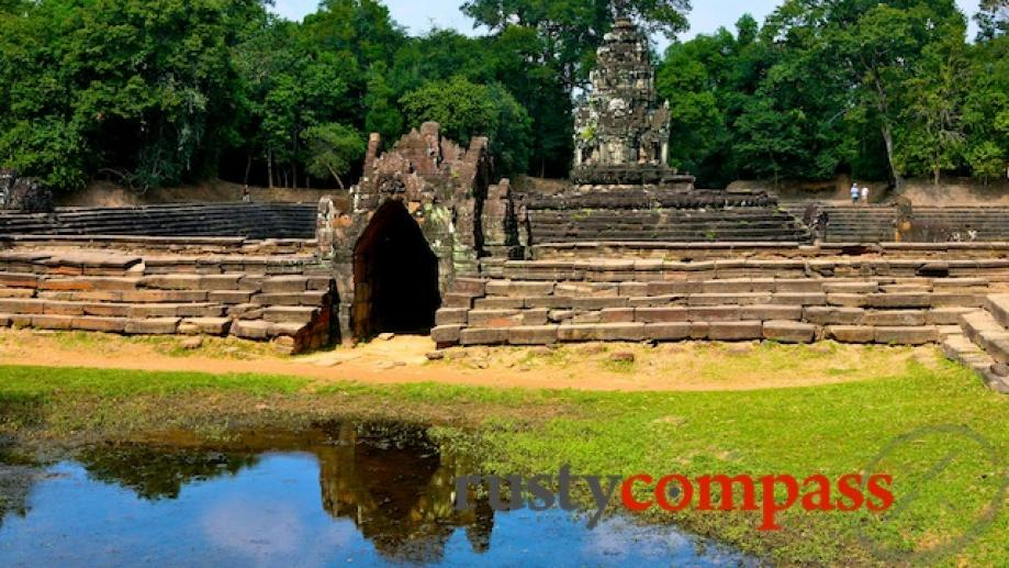Neak Pean is nearby Ta Som and is a small...