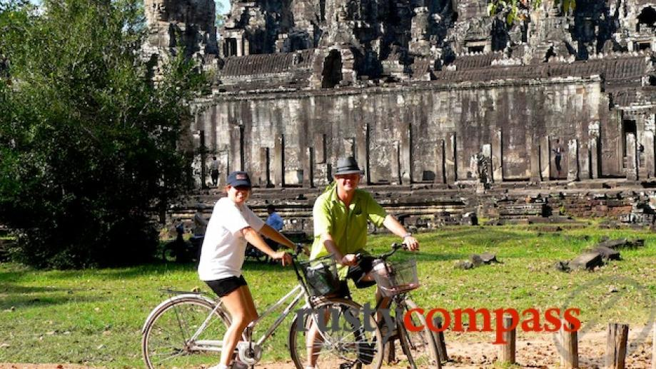 Day 1 of our 3 days exploring Angkor is very...