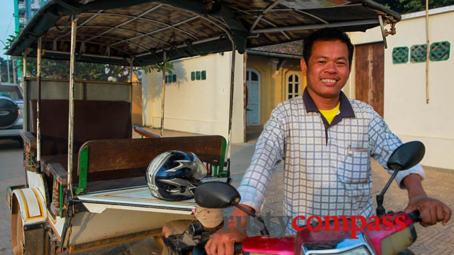 Battambang is the rural heart of Cambodia so it's well...