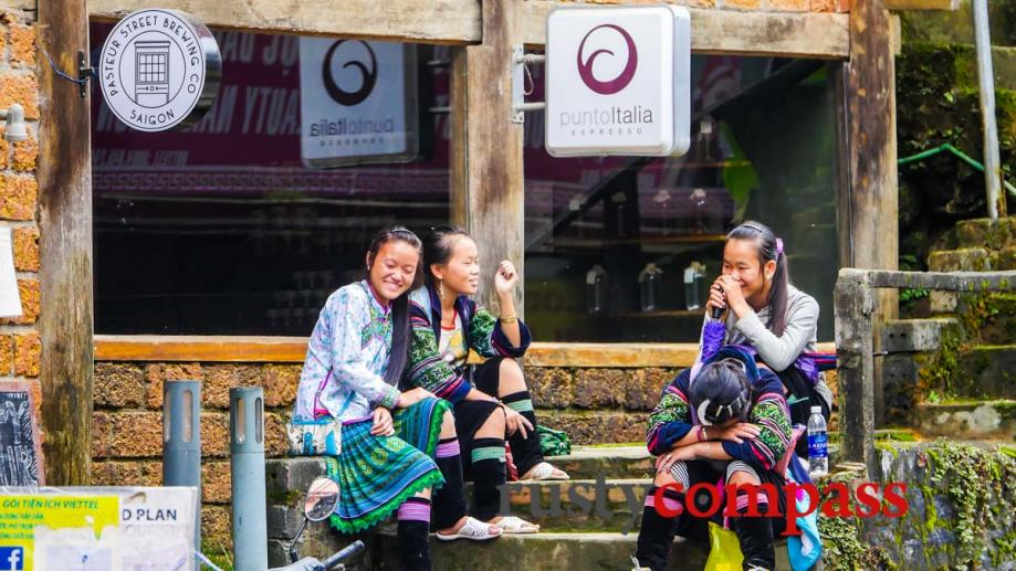 Ethnic Hmong girls, Italian coffee and Saigonese craft beer. The...