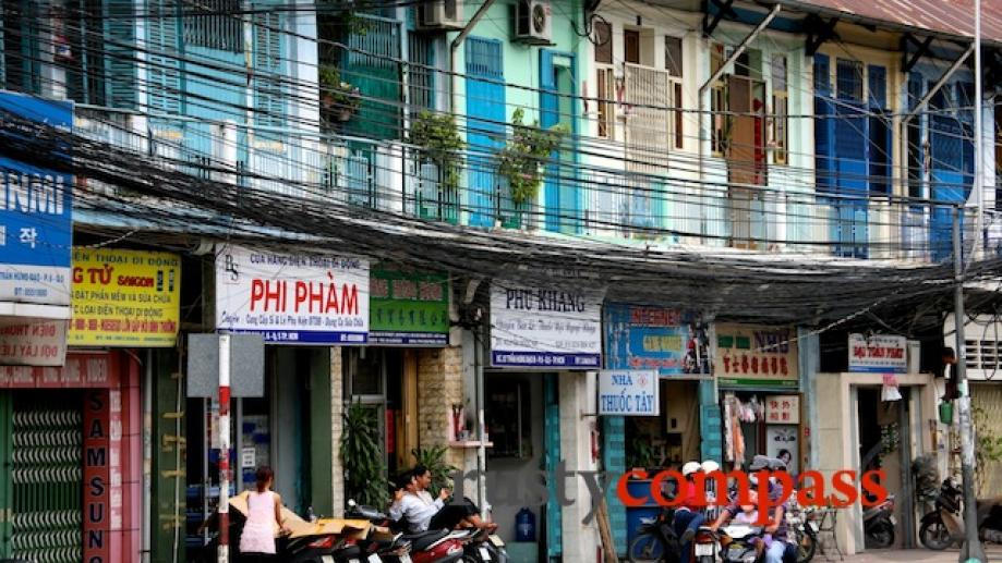Shophouses, Cholon