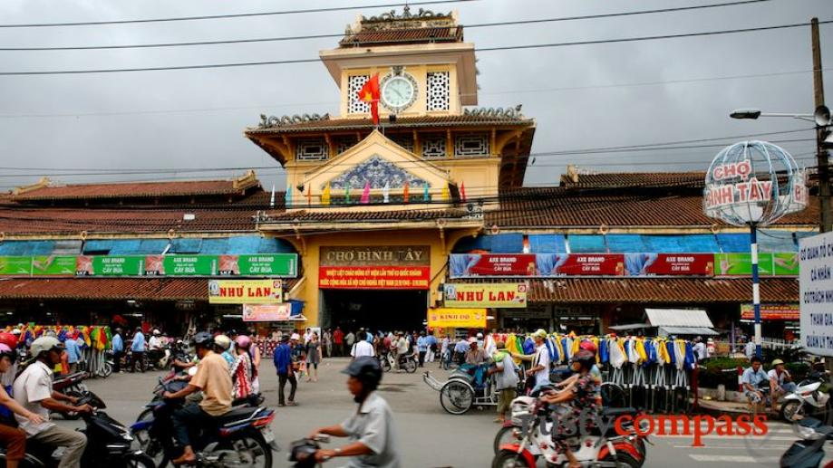 "This is the Binh Tay market - the ""cho lon""..."