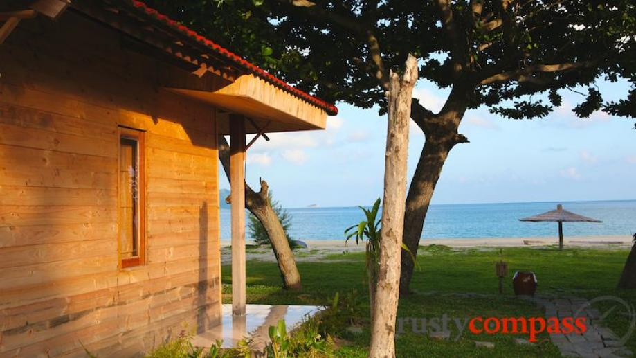 Con Dao Sea Travel Resort. Sits on a lovely piece...