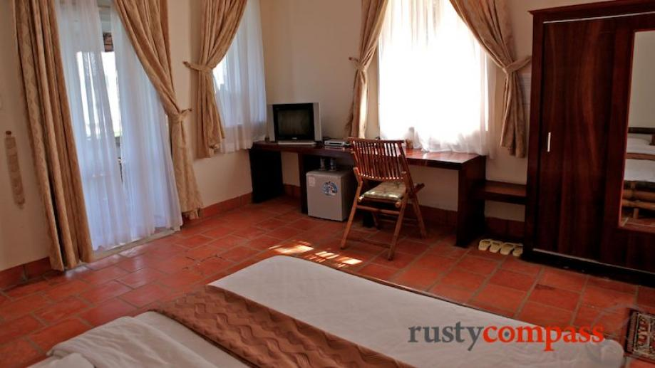 ATC Villas Con Dao Island. Apartment bedroom. These two bedroom apartments rent...