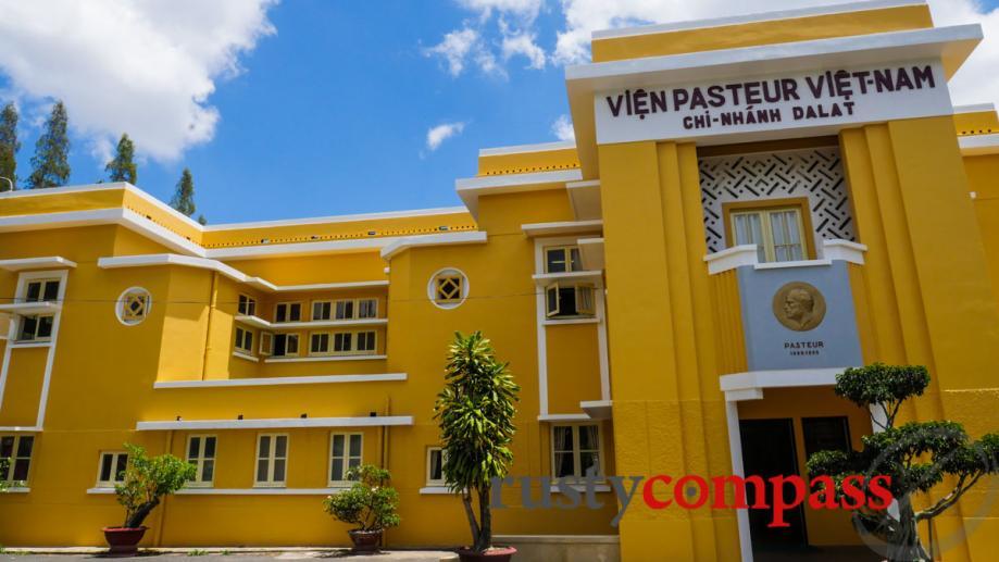 Pasteur Institute Dalat has a fresh coat of paint.