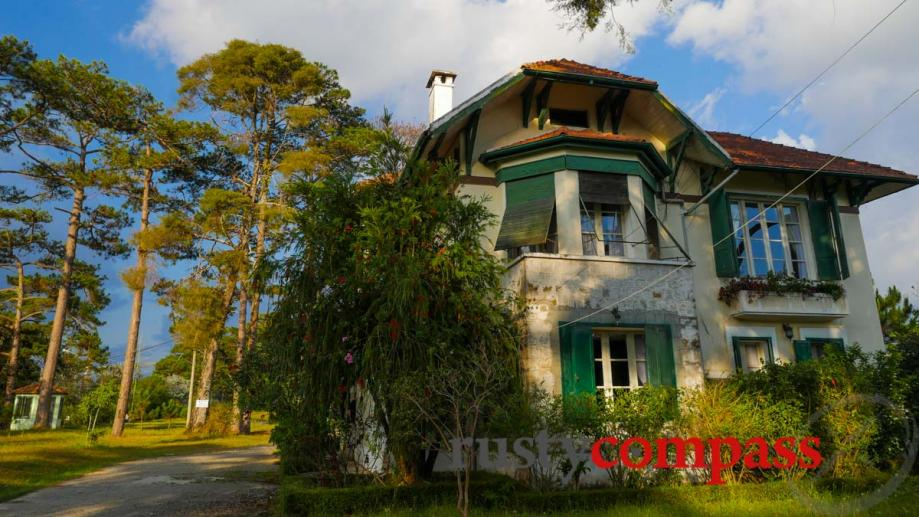 Grand colonial mansions of Dalat