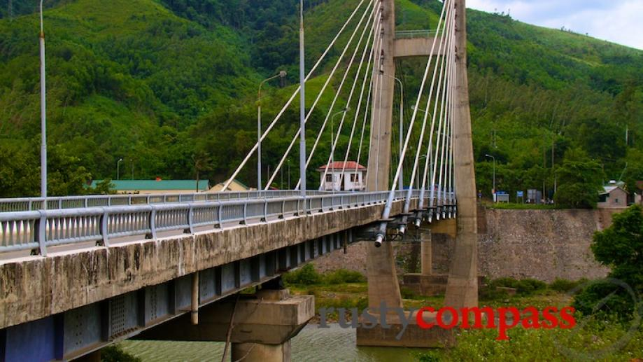 Dakrong Bridge was another critical point along Route 9 both...