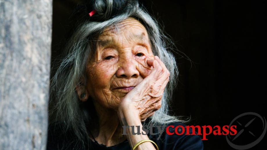 This Thai woman was 104 when I met her just...
