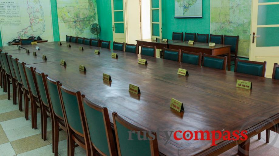 The room in which North Vietnam's campaign against the US...