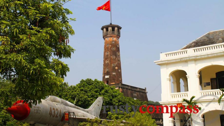 Right by the citadel, Hanoi's Military History Museum is a...
