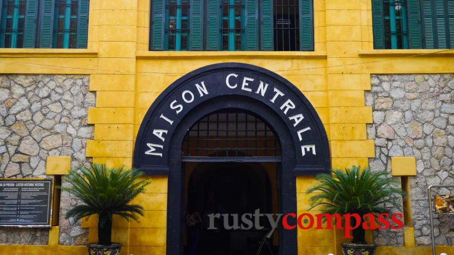 Hanoi's Hoa Lo prison gained notoriety in the West during...
