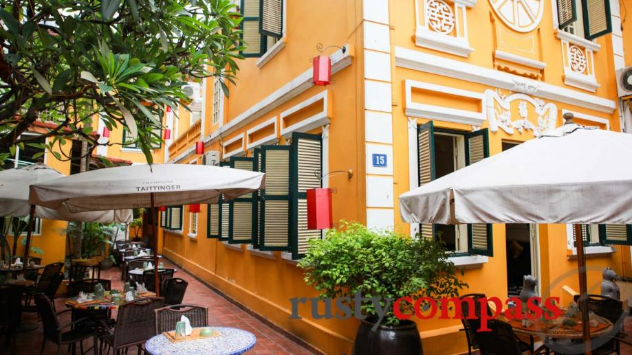 Hanoi's colonial villas are being transformed into restaurants, bars and...