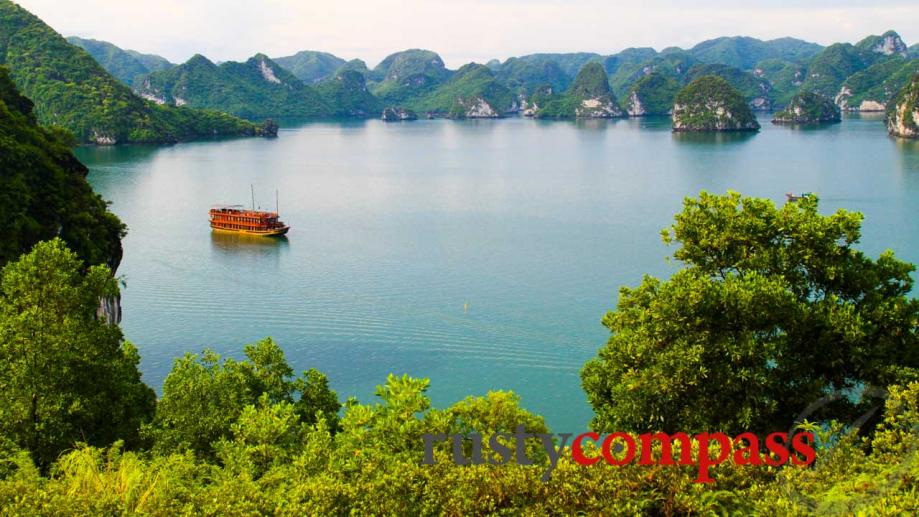 3 hours from Hanoi is World Heritage listed Halong Bay,...