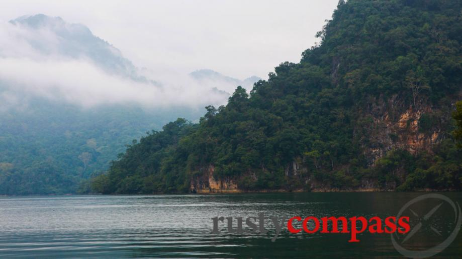 Ba Be Lake is the largest natural lake in Vietnam...