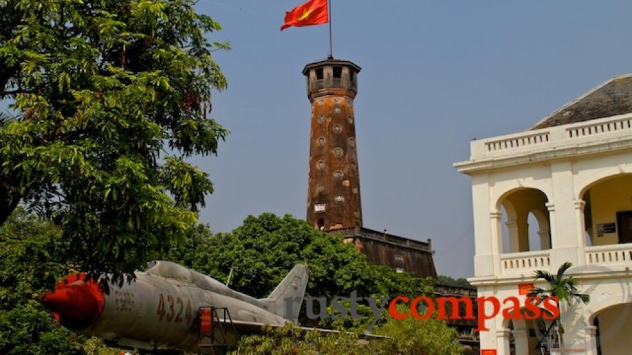 At one end of Ba Dinh Square is Hanoi Citadel....