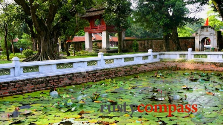 Day 2: Temple of Literature, Hanoi. Dates back to the...