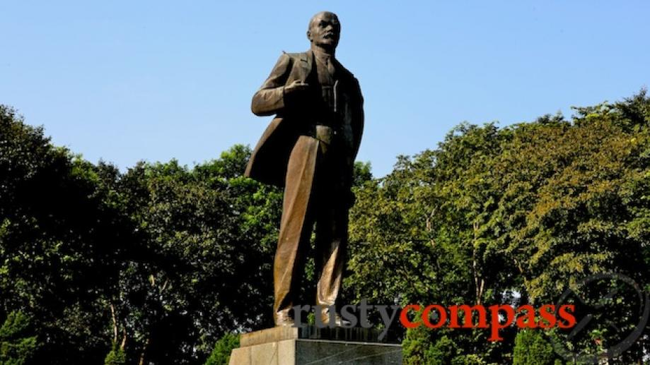 The only statue of Lenin in South East Asia?