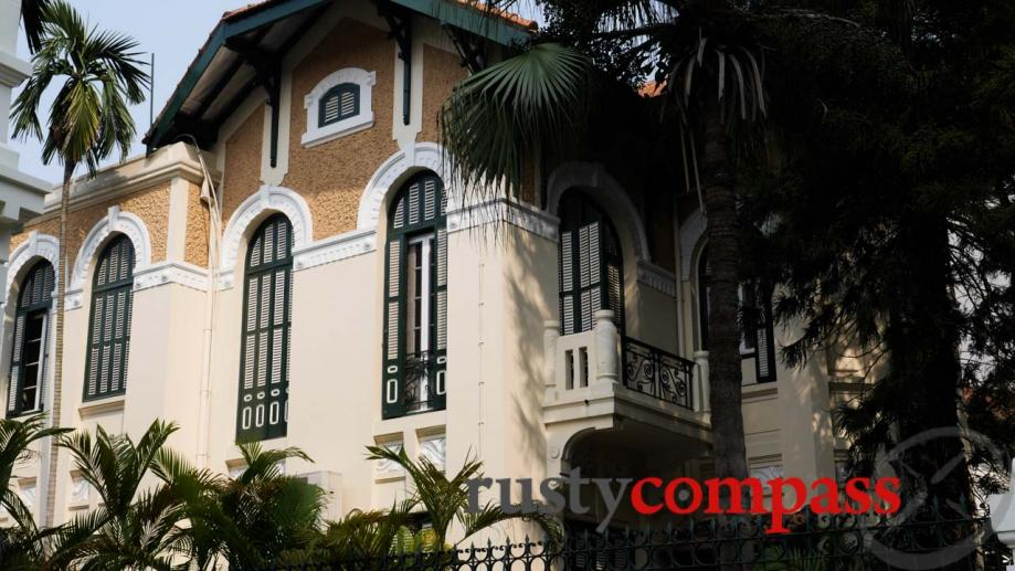 The former Australian Embassy in Hanoi - now the Ambassador's...