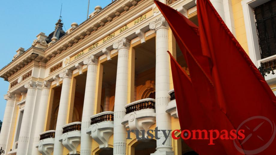 Hanoi's Opera House is one of the most famous of...