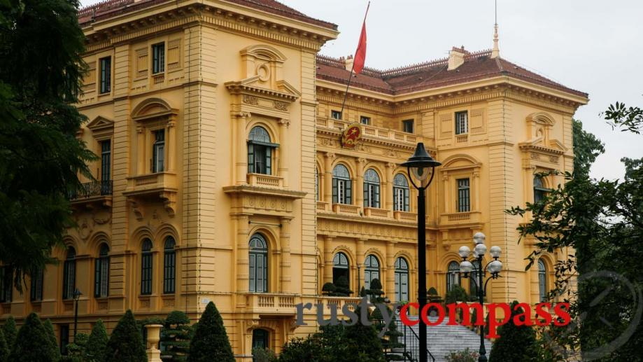 Presidential Palace, Hanoi built in 1907 as the French Governor's...