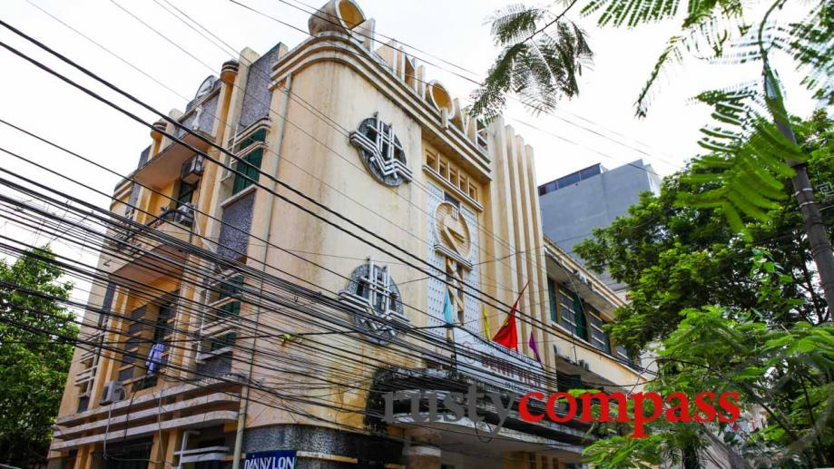 Art Deco made a big impact on Hanoi. This former...