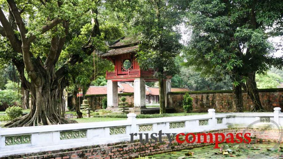 The Temple of Literature dates back to 1070 and is...