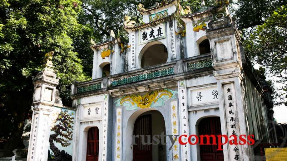 Hanoi's West Lake area , a few hundred metres from...