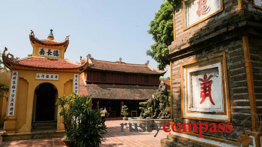 Dating back to the 6th century AD, Tran Quoc Pagoda,...