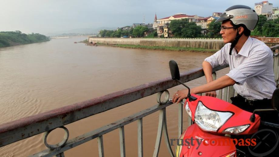 Contemplating Hanoi? The Red River flows from here to Vietnam's...