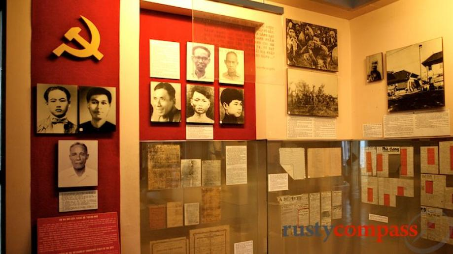 People and documents of Saigon's revolution.