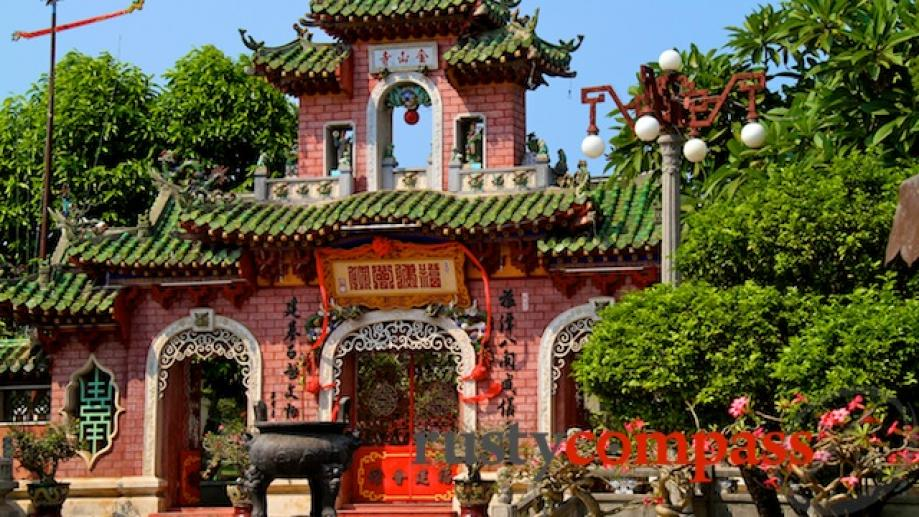 Fujian Temple, Hoi An. This is where Hoi An's Chinese...