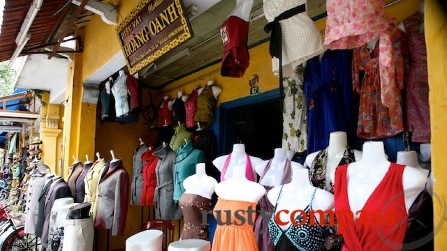 Shopping has become one of Hoi An's biggest magnets for...