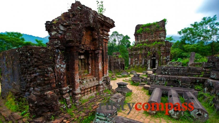 On day two, rise early to visit the Cham ruins...