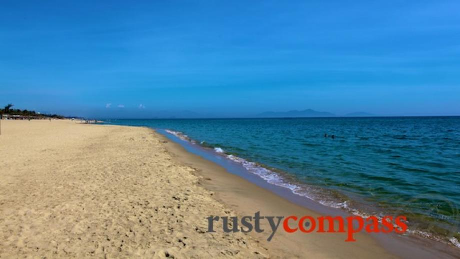 Cua Dai beach is closer to town and has plenty...