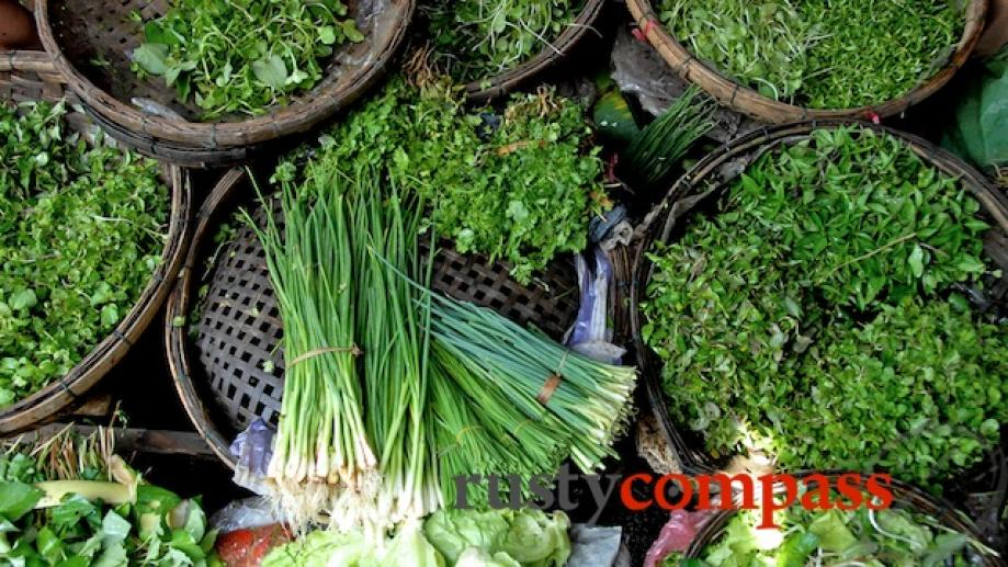 The delicious fresh greens at the heart of Vietnam's exquisite...