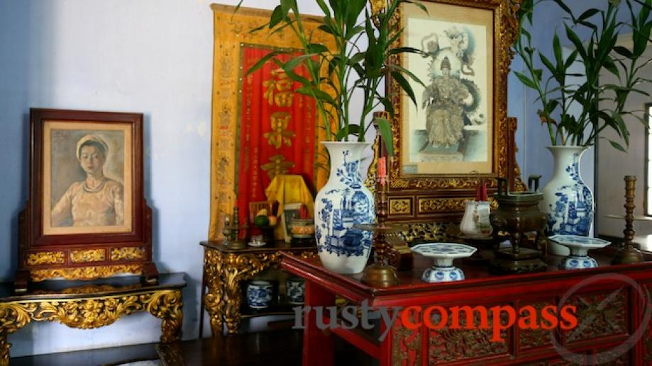 The last home of Emperor Khai Dinh's wife - mother...