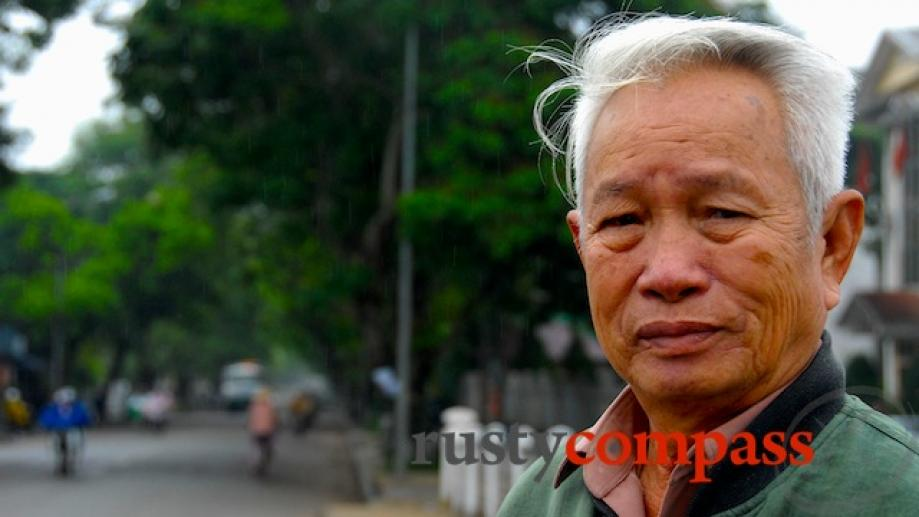 This retiree, from Nghe An north of Hue, was a...