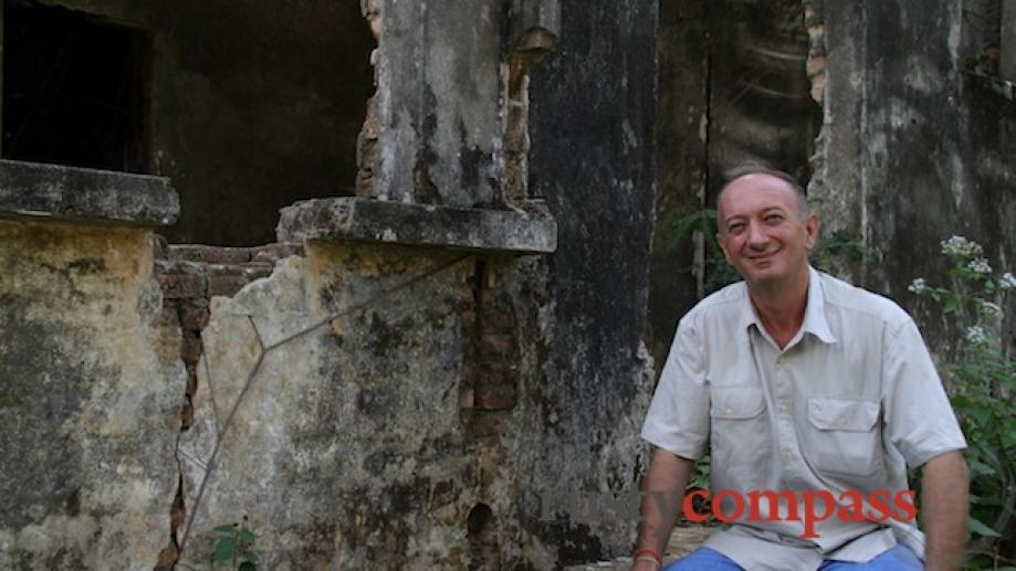 Jean Michel Filippe is a linguistics professor fluent in Khmer...