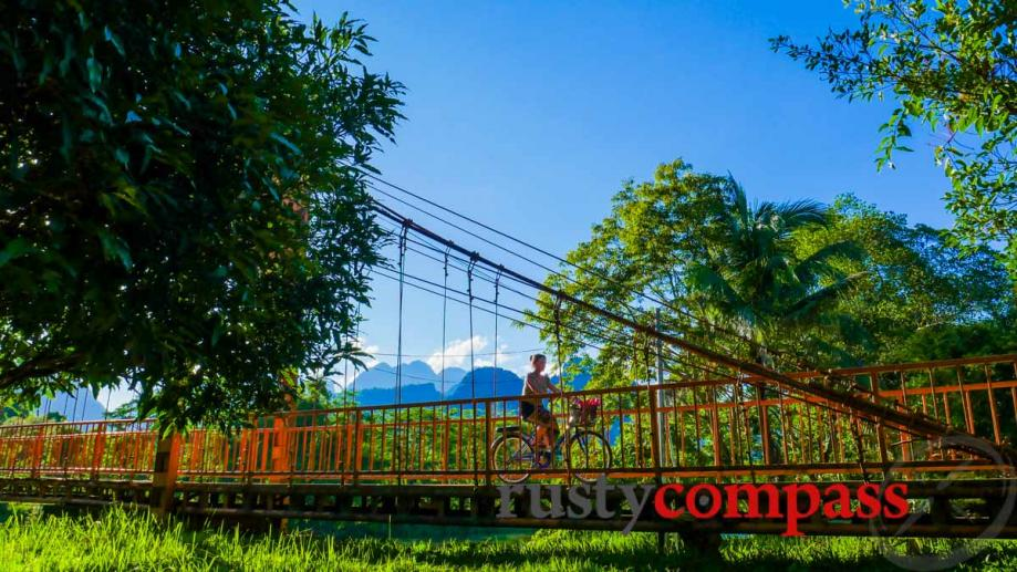 Vang Vieng, Laos - the party town has mellowed