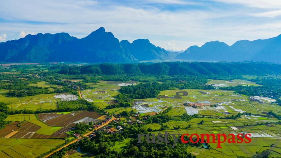 Viewpoint outside Vang Vieng, Laos