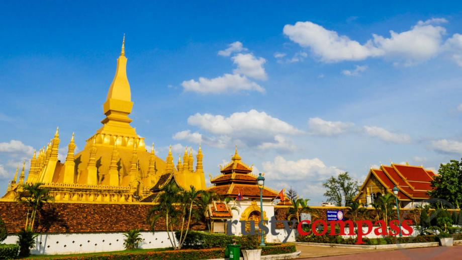 Vientiane may well be the world's most mellow capital city...