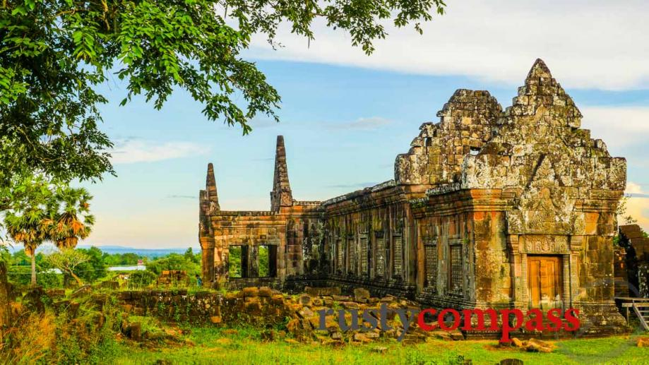 11th century Angkorian Temple of Wat Phu, Laos outside Champasak...