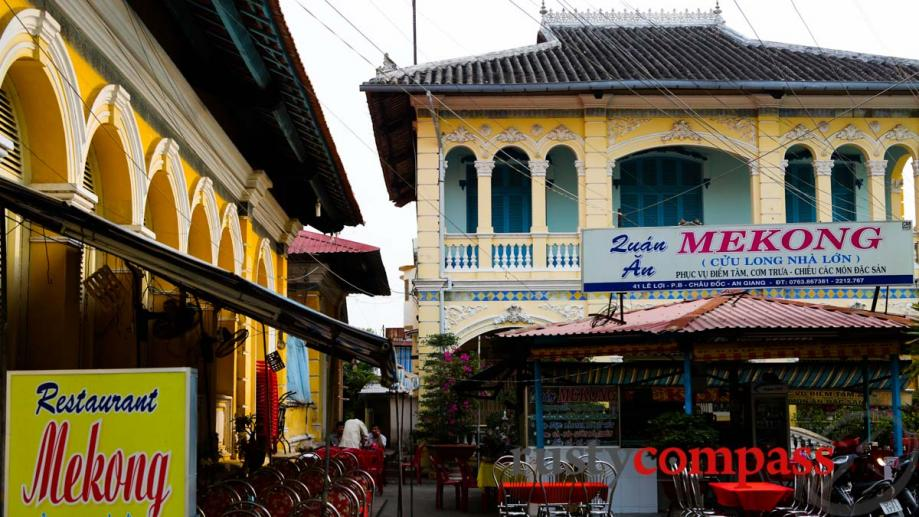 Mekong Restaurant, the family home and Le Cong Bich's ancestral...