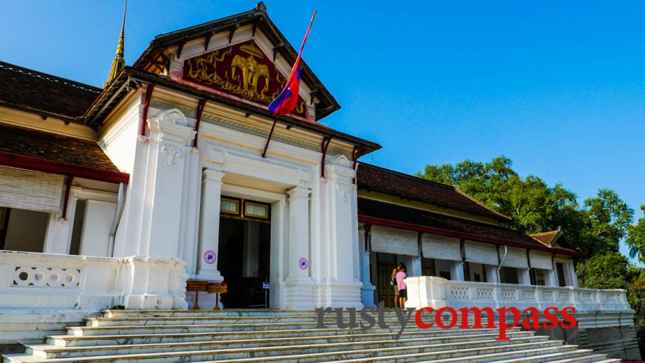 The French influenced Royal Palace, 1904, Luang Prabang - now...
